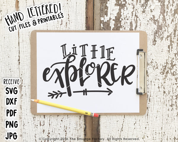 Little Explorer SVG & Printable