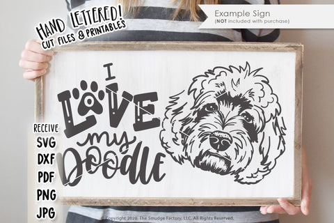 Love My Doodle SVG & Printable