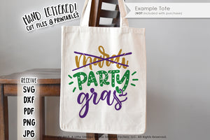Party Gras SVG & Printable