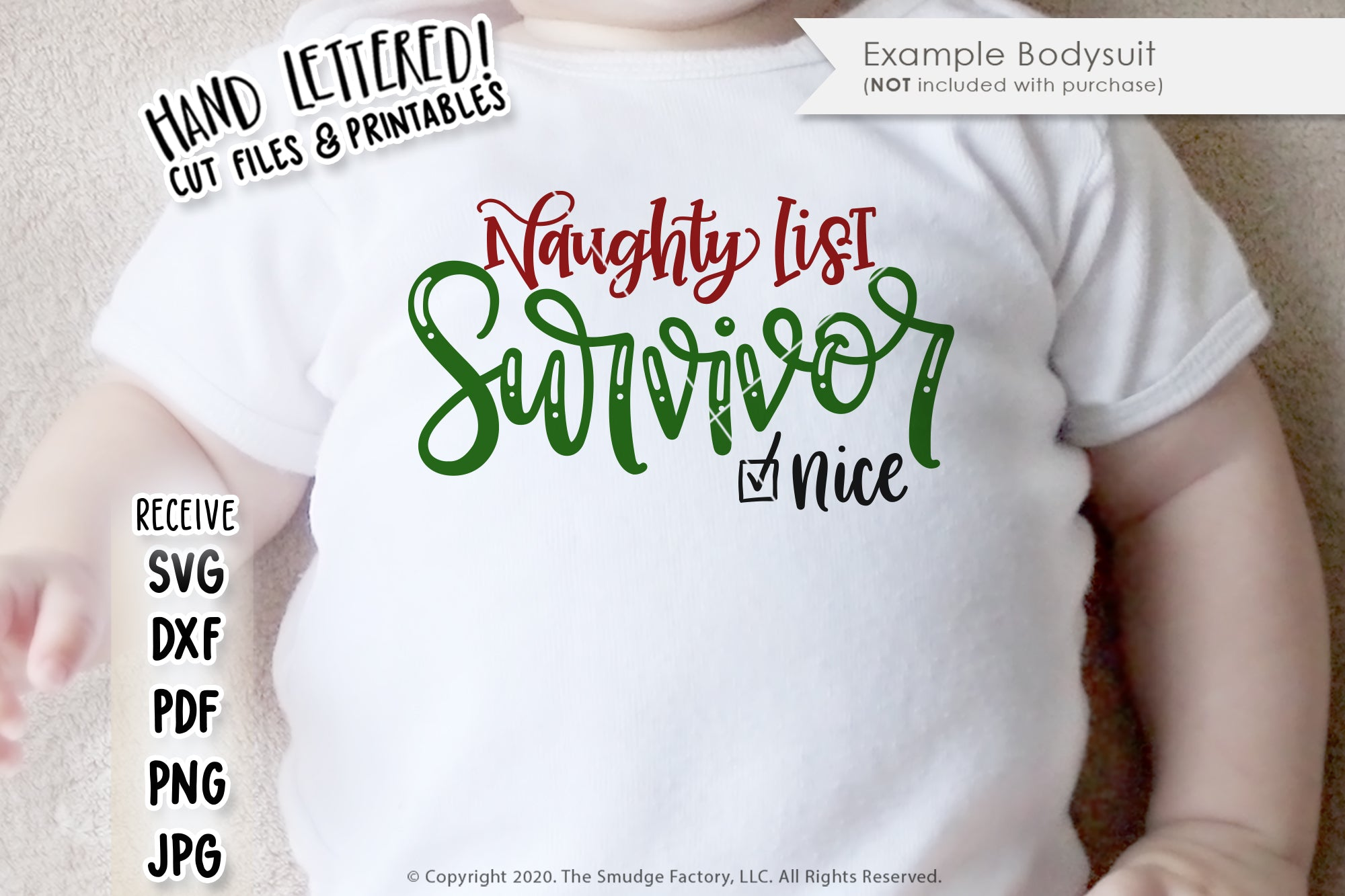 Naughty List Survivor SVG & Printable