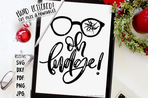 Oh Fudge SVG & Printable