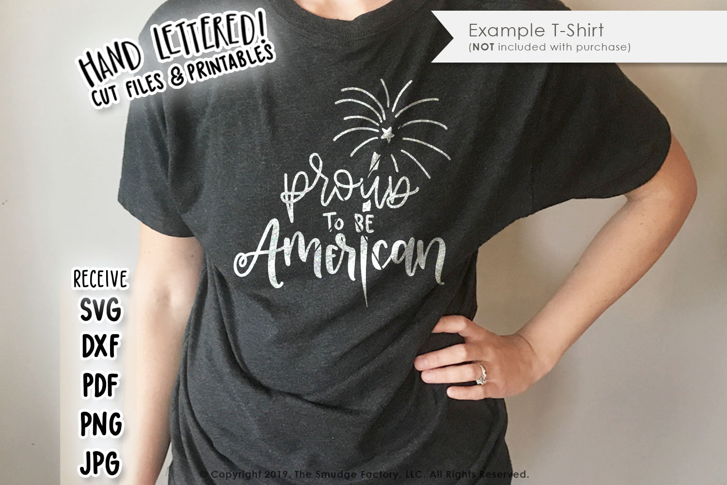 Proud To Be American SVG & Printable