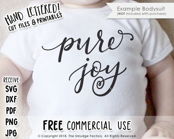 Pure Joy SVG & Printable