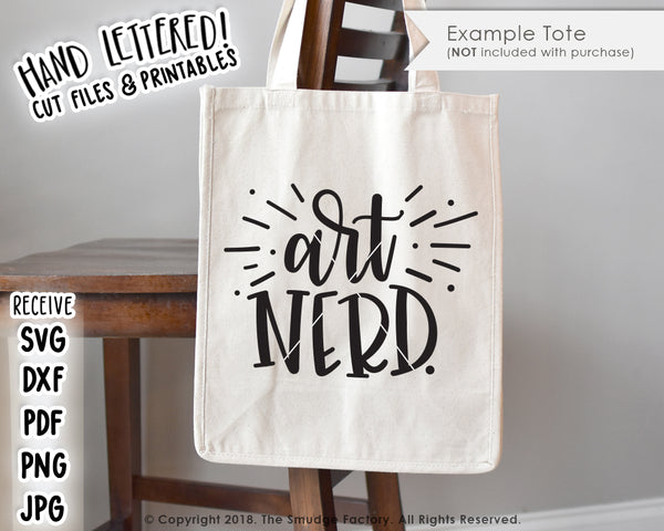 Art Nerd SVG & Printable