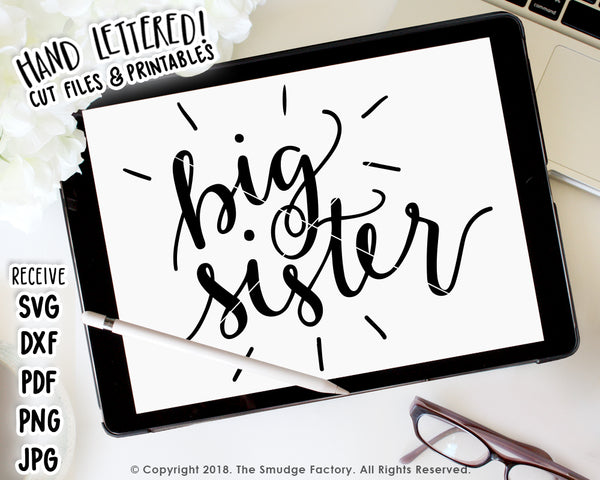 Big Sister SVG & Printable