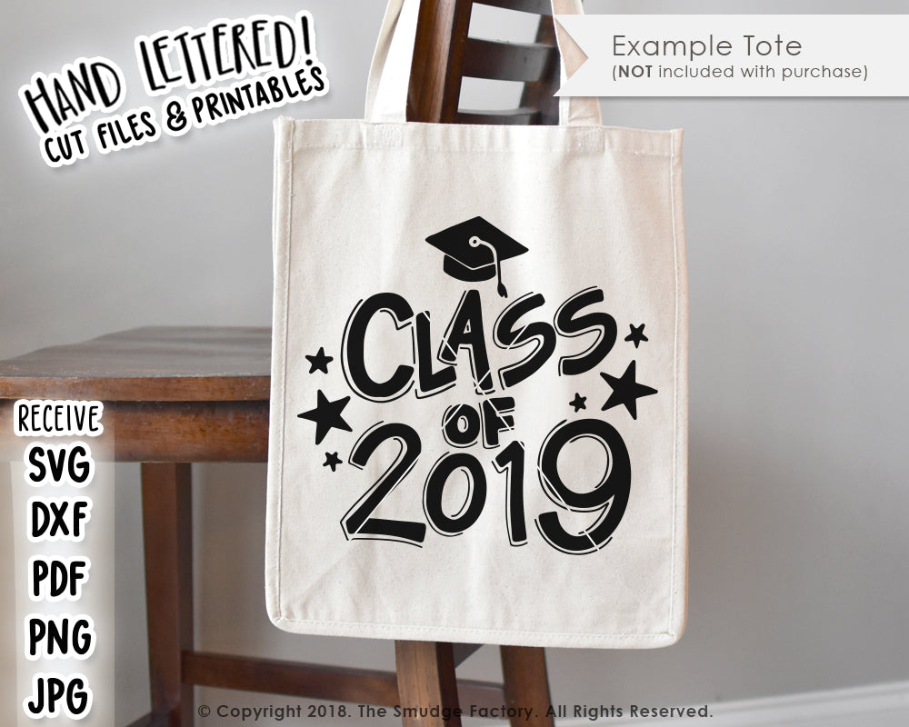 Class of 2019 SVG & Printable