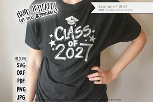 Class of 2027 SVG & Printable