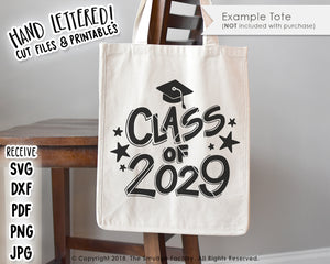 Copy of Class of 2029 SVG & Printable