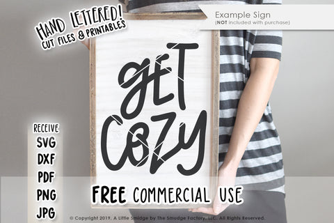 Get Cozy SVG & Printable