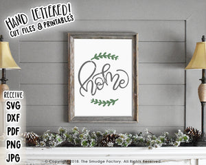 Home SVG & Printable