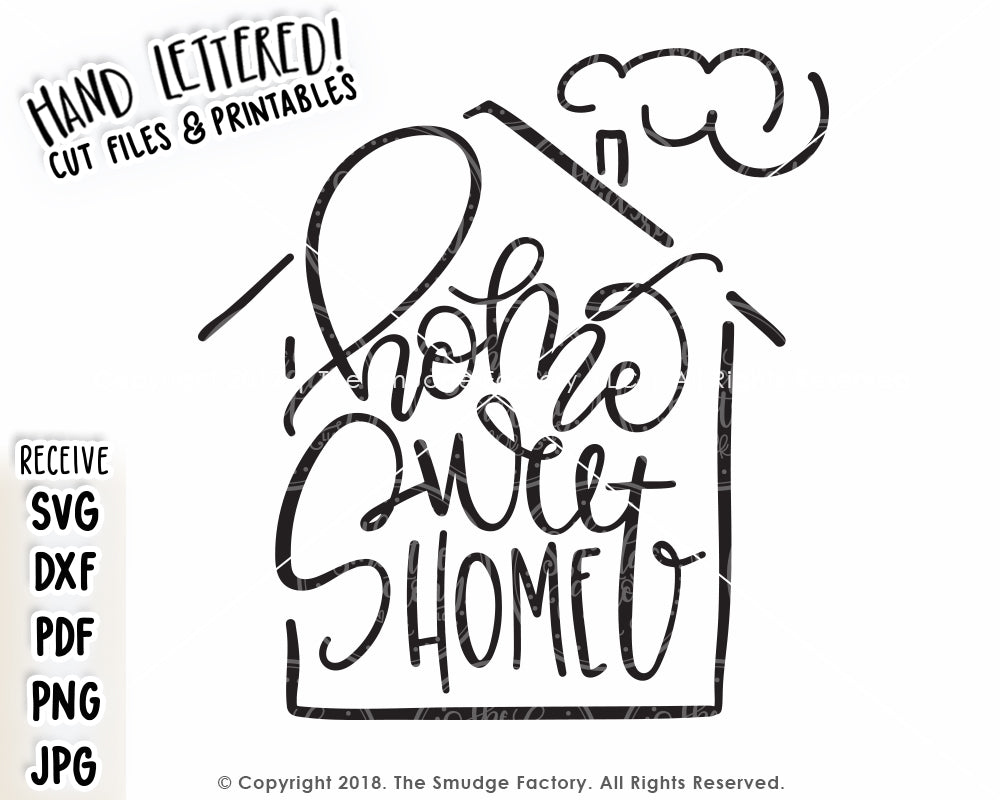 Home Sweet Home SVG & Printable