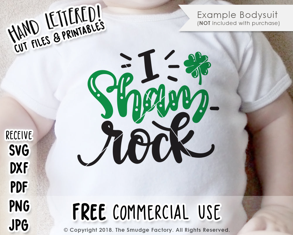I Sham-Rock SVG & Printable