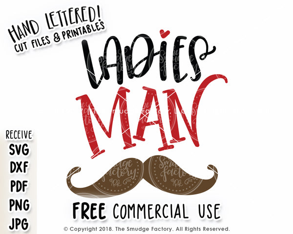 Ladies Man SVG & Printable