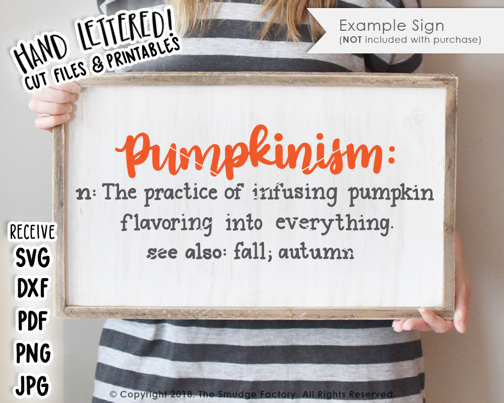 Pumpkinism SVG & Printable