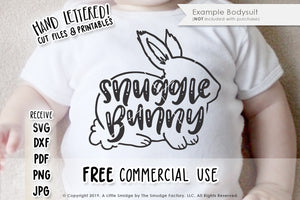 Snuggle Bunny SVG & Printable
