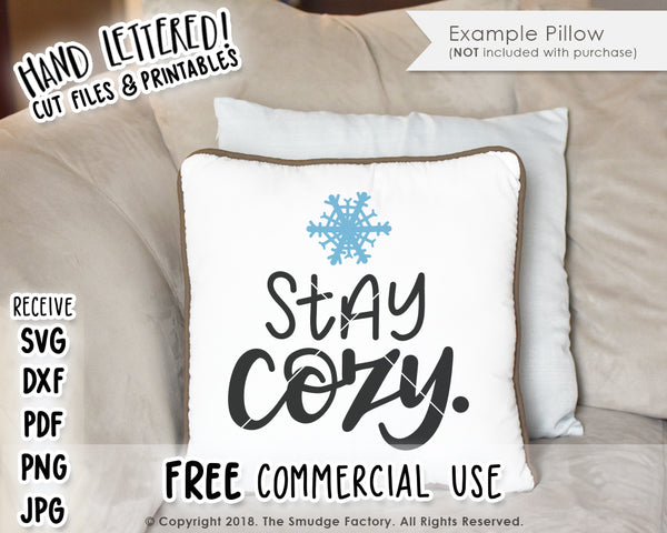 Stay Cozy SVG & Printable