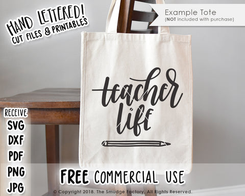 Teacher Life SVG & Printable