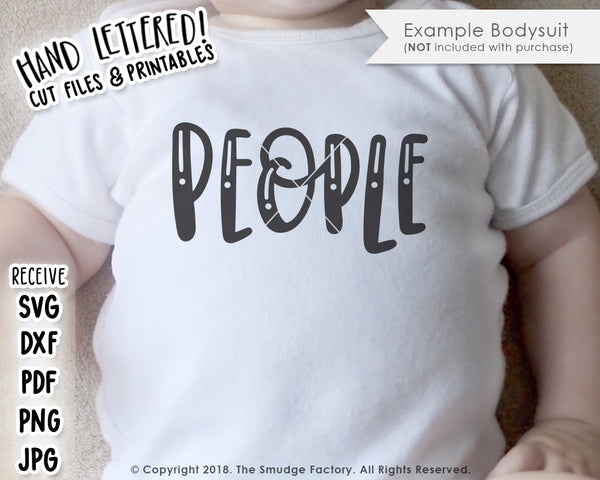 These Are My People SVG & Printable