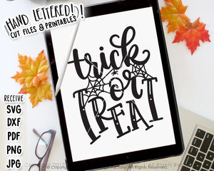 Trick Or Treat SVG & Printable