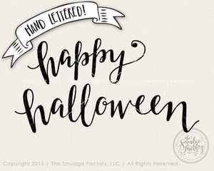 Happy Halloween SVG & Printable