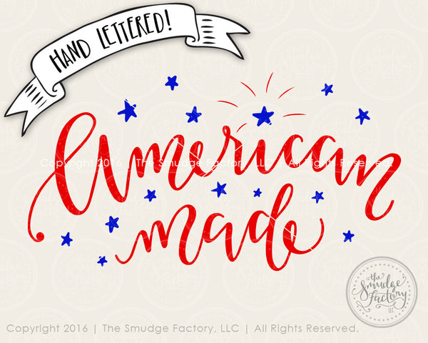 American Made Color SVG & Printable