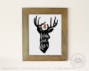 Kiss Me Deer SVG & Printable