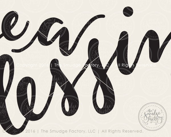 Be A Blessing SVG & Printable