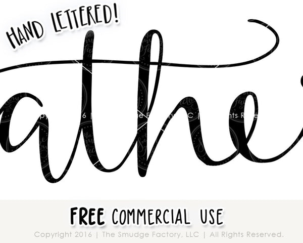 Gather SVG & Printable