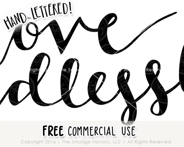 Love Endlessly SVG & Printable