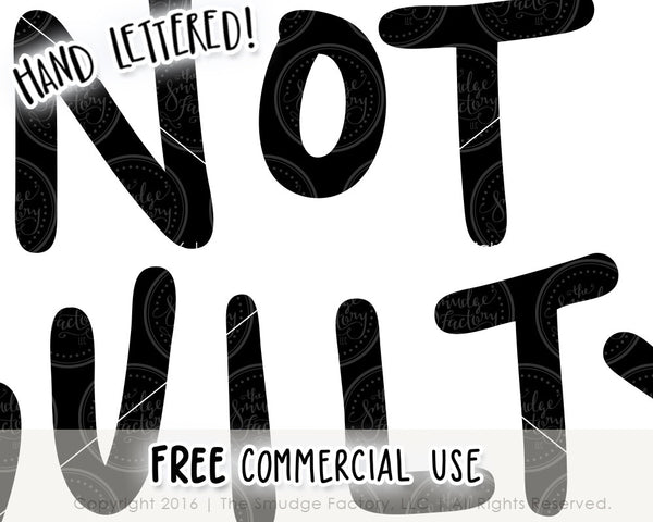 Not Guilty SVG & Printable