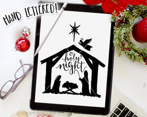 O Holy Night SVG & Printable