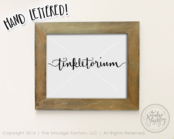 Tinkletorium SVG & Printable