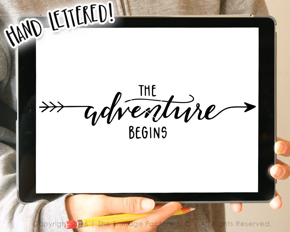 The Adventure Begins SVG
