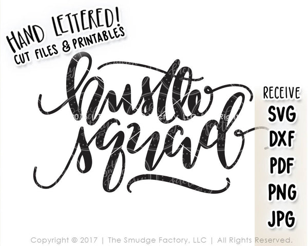 Hustle Squad SVG & Printable
