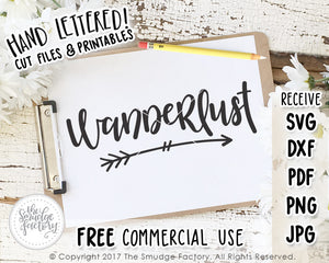 Wanderlust SVG & Printable