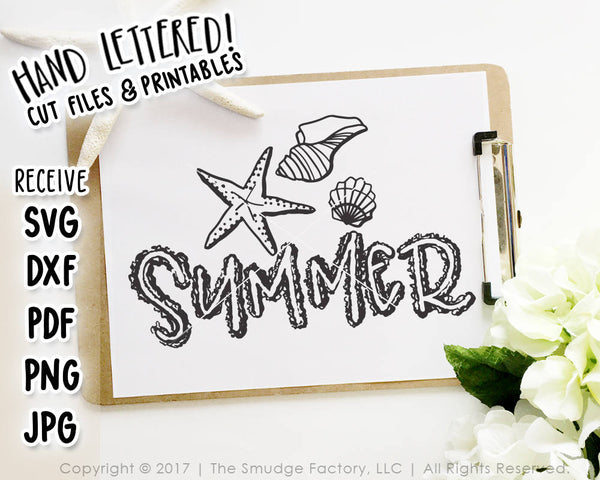 Summer SVG & Printable