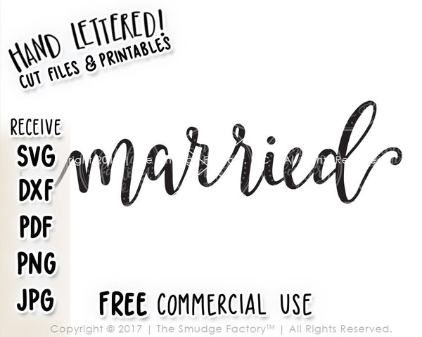 Married SVG & Printable