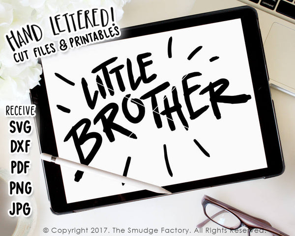 Little Brother SVG & Printable