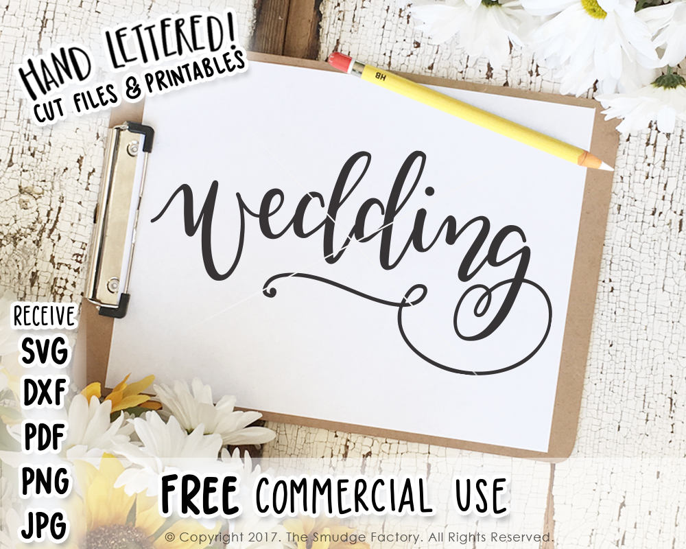 Wedding SVG & Printable