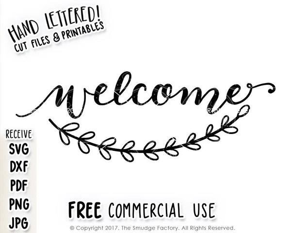 Welcome SVG & Printable