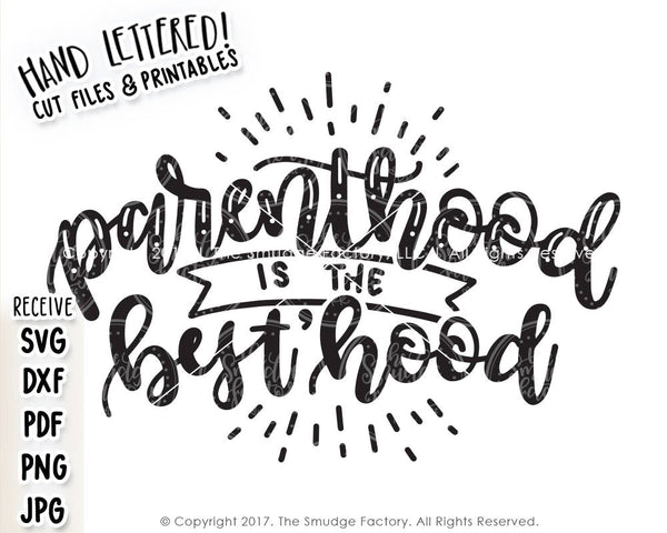 Parenthood SVG & Printable