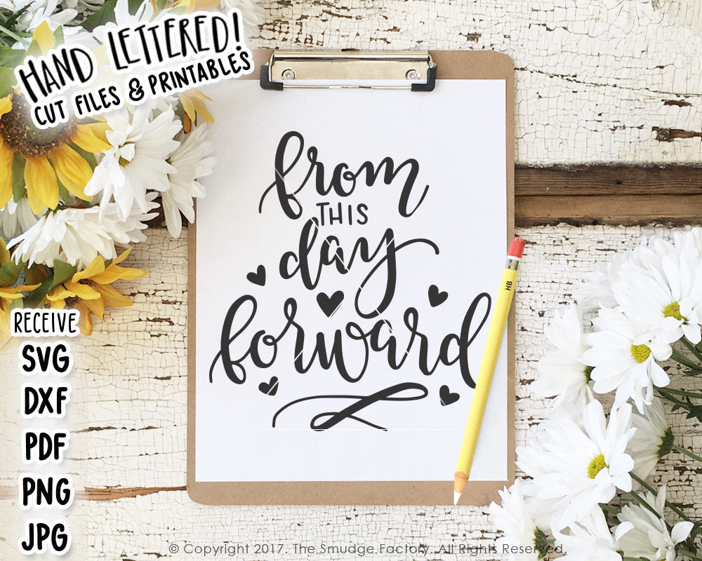 From This Day Forward 1 Peter 1:6 SVG & Printable