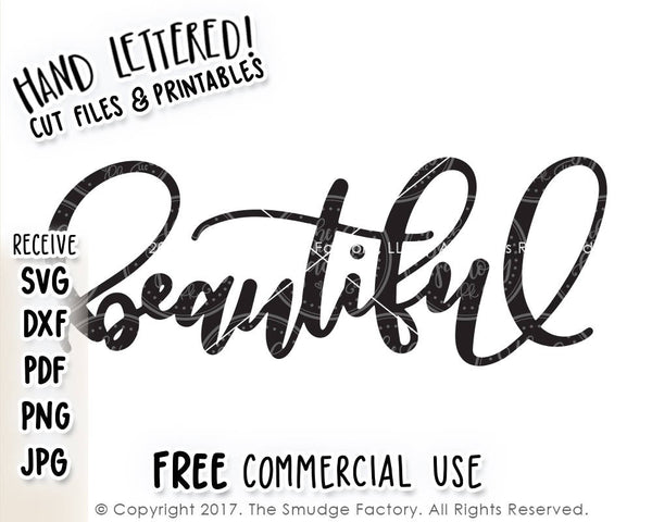 Beautiful SVG & Printable