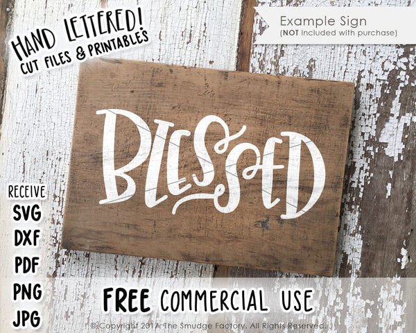 Blessed SVG & Printable