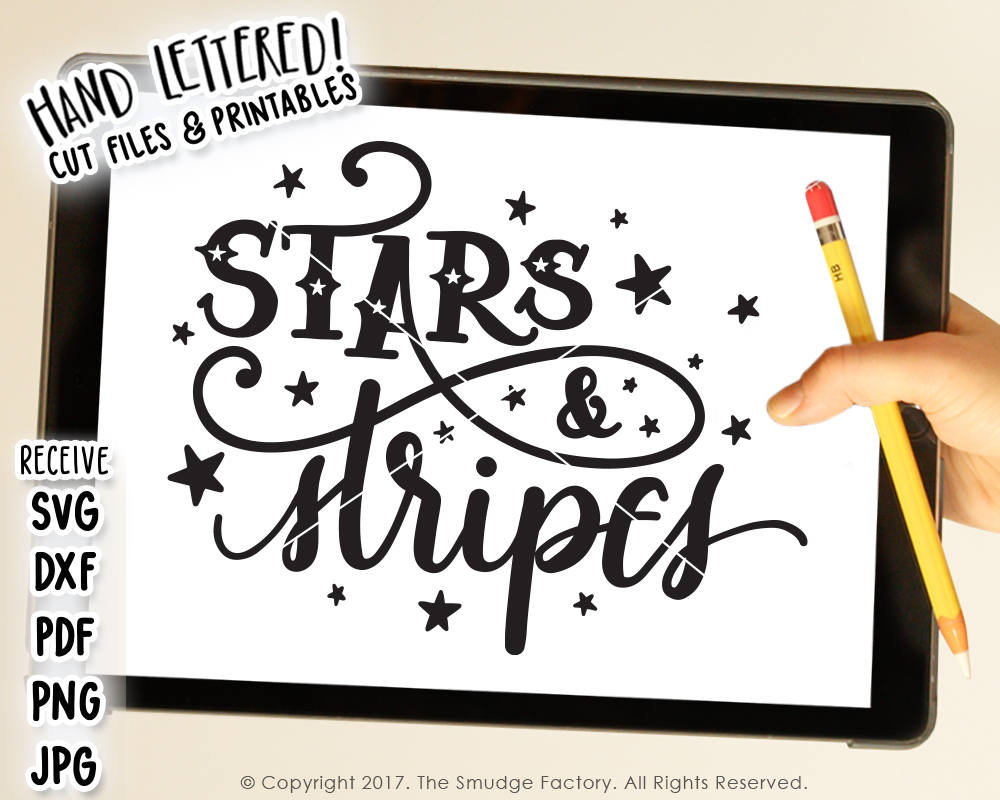 Stars & Stripes SVG & Printable