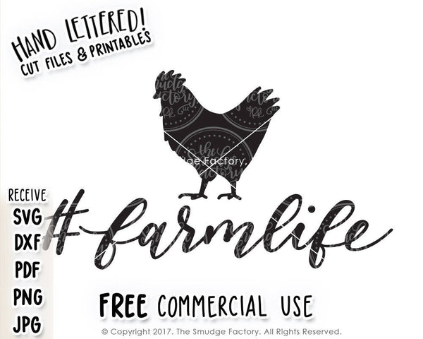Farm Life SVG & Printable