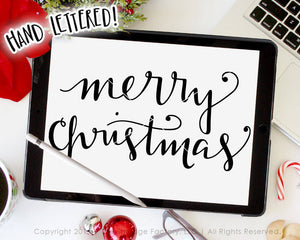 Merry Christmas SVG & Printable