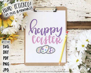 Happy Easter SVG & Printable