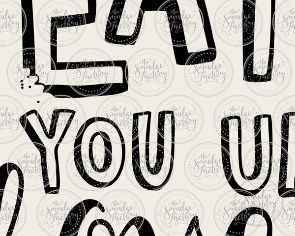 I'll Eat You Up I Love You So SVG & Printable