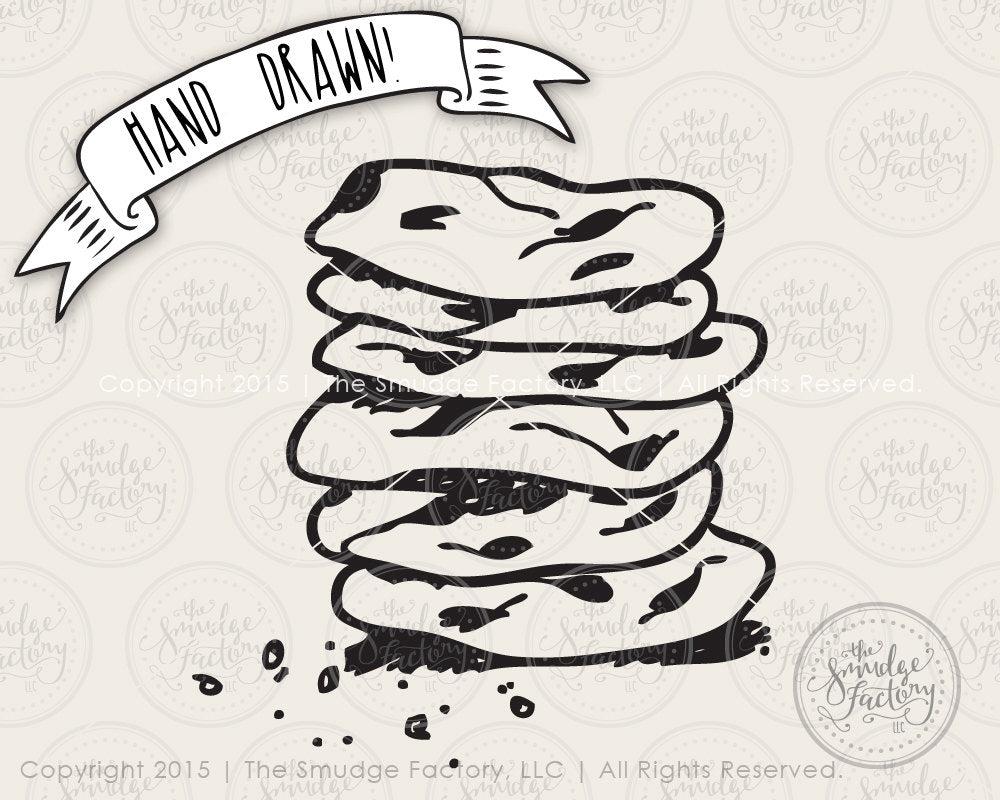 Cookie Stack SVG & Printable